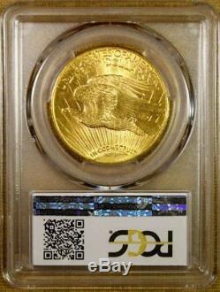 1911-D PCGS MS64+ $20 Saint Gaudens Gold Double Eagle PQ