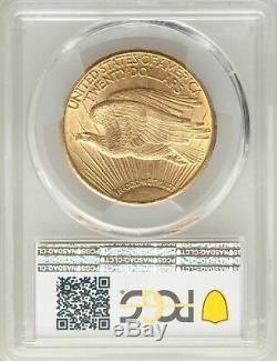 1911-D US Gold $20 Saint Gaudens Double Eagle PCGS MS64+
