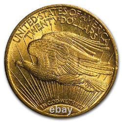 1911-S $20 Saint-Gaudens Gold Double Eagle MS-63 PCGS SKU #8746