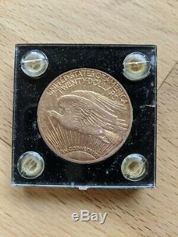 1911 St Gaudens Double Eagle $20 Twenty Dollar Gold Coin