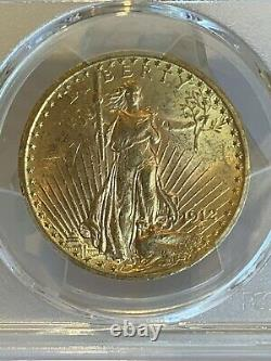 1912 $20 Saint Gaudens Gold Double Eagle PCGS MS62! 40804263