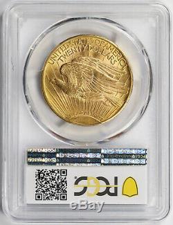 1912 Saint Gaudens Double Eagle Gold $20 MS 63 PCGS Secure Shield