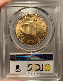 1913 $20 PCGS MS 62 St. Gaudens Gold Double Eagle