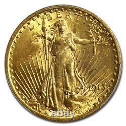 1913 $20 Saint-Gaudens Gold Double Eagle MS-62 PCGS SKU #19461