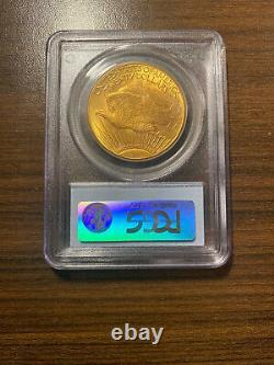 1913-D $20 Gold Saint Gaudens Double Eagle PCGS MS 64 Twenty Dollar Gold