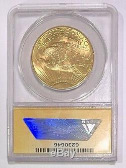 1913-D $20 Saint-Gaudens Gold MS62 Double Eagle 1 oz $1860 Price Guide! Sale