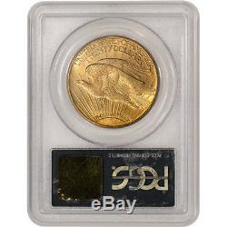 1913-D US Gold $20 Saint-Gaudens Double Eagle PCGS MS64