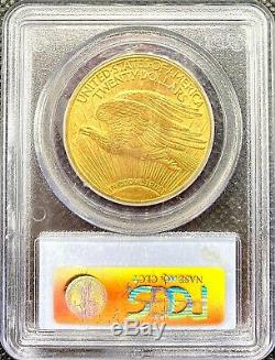 1913-S $20 Saint Gaudens American Gold Double Eagle MS62 PCGS KEY DATE COIN