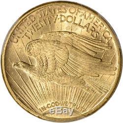 1913-S US Gold $20 Saint-Gaudens Double Eagle PCGS MS64