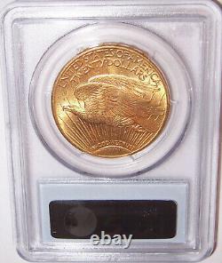 1914-D $20 Denver Gold GEM St Gaudens Double Eagle PCGS MS65
