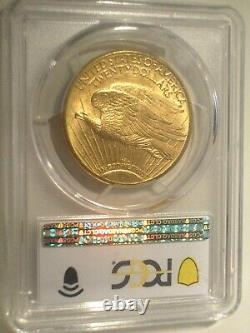 1914-D $20 GOLD PCGS MS65 St. SAINT GAUDENS DOUBLE EAGLE $4,500++ BRIGHT