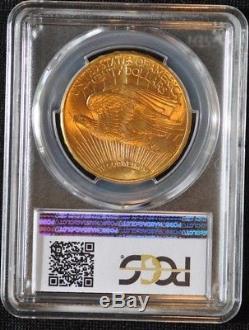 1914 D $20 Saint Gaudens Gold Double Eagle PCGS Graded MS64 563 SO UNDERGRADED