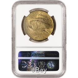 1914-D US Gold $20 Saint-Gaudens Double Eagle NGC MS63