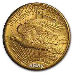 1914-S $20 Saint-Gaudens Gold Double Eagle AU SKU#34267