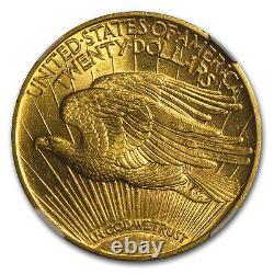 1914-S $20 Saint-Gaudens Gold Double Eagle MS-62 NGC