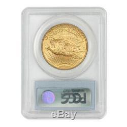 1914-S $20 Saint Gaudens PCGS MS65 Gem graded Gold Double Eagle San Francisco