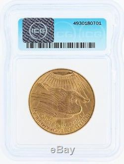 1914-S ICG MS67 $20 Saint Gaudens Double Eagle Tied for Finest Known Graded