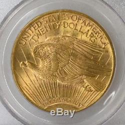 1914 S PCGS MS64 $20 St Gaudens Double Eagle Gold Nice Strike & Luster I-9886