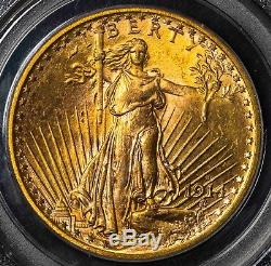 1914 S PCGS MS64 St. Gaudens $20 Gold Double Eagle Item# M4022