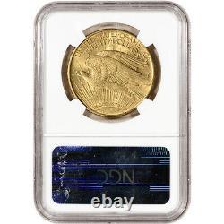 1914 S US Gold $20 Saint-Gaudens Double Eagle NGC MS63