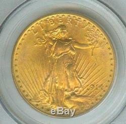 1914-d $20 St Gaudens Double Eagle Pcgs Ms65 Saint Ms-65 Better Date Gem
