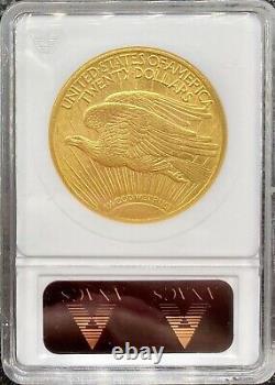 1915-S $20 American Gold Double Eagle Saint Gaudens MS62 ANACS OG Slab LUSTROUS