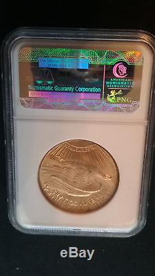 1915-S $20 ST GAUDENS DOUBLE EAGLE NGC MS 65 Gem! Beautiful and Rare Coin