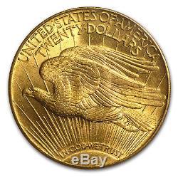 1915-S $20 Saint-Gaudens Gold Double Eagle MS-64 PCGS