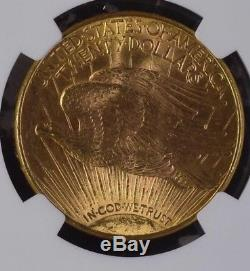 1915 S NGC MS-62 $20 St. Saint Gaudens Double Eagle US Gold Coin