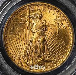 1915 S PCGS MS64 St. Gaudens $20 Gold Double Eagle Item# M4026