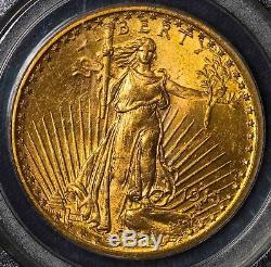 1915 S PCGS MS64 St. Gaudens $20 Gold Double Eagle Item# M4027