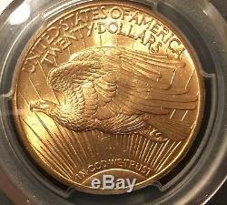 1915 S PCGS (Prospector Label) $20 St. Saint Gaudens Double Eagle US Gold Coin