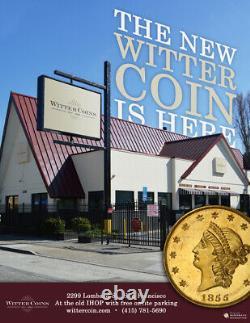 1915-S Saint-Gaudens Twenty Dollar Double Eagle PCGS MS 64 CAC Witter Coin