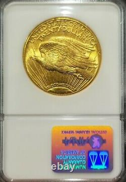 1915-S St. Gaudens $20 Twenty Dollar Gold Double Eagle, Brilliant NGC-62