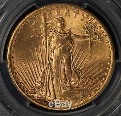 1915-S St Gaudens Double Eagle PCGS MS65