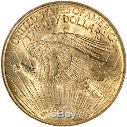1915-S US Gold $20 Saint-Gaudens Double Eagle NGC MS64