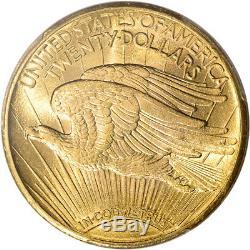 1915-S US Gold $20 Saint-Gaudens Double Eagle PCGS MS63