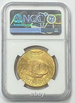 1916-S $20 Saint Gaudens Gold Double Eagle Pre-33 NGC MS64 Blazing Color PQ++
