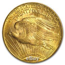 1920 $20 Saint-Gaudens Gold Double Eagle MS-64 PCGS