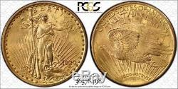 1920 $20 St Gaudens Double Eagle PCGS MS62