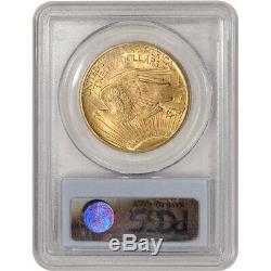 1920 US Gold $20 Saint-Gaudens Double Eagle PCGS MS64