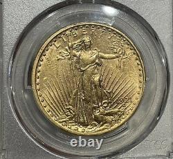 1921 PCGS AU55 Saint Gaudens $20 Gold Double Eagle