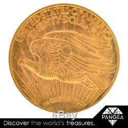 1921 St. Gaudens $20 Gold Double Eagle PCGS MS-61 VERY SCARCE DATE 100 KNOWN