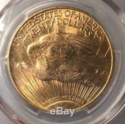 1922 $20 PCGS MS 65 St. Gauden's Gold Double Eagle
