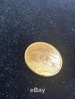 1922 $20 Saint Gaudens Double Eagle Appears Uncirculated