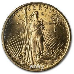 1922 $20 Saint-Gaudens Gold Double Eagle MS-64 PCGS