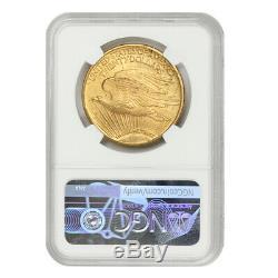 1922 $20 Saint Gaudens NGC MS64 choice grade Gold Double Eagle Philadelphia coin