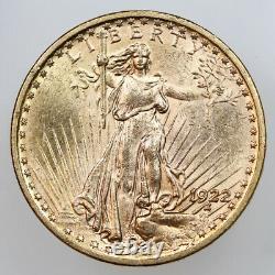 1922 $20 Saint-gauden Double Eagle