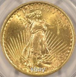 1922 $20 St. Gaudens Gold Double Eagle PCGS MS-63 Nice Original Coin