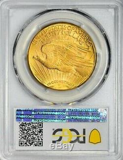 1922 S $20 Saint Gaudens Gold Double Eagle PCGS MS 63